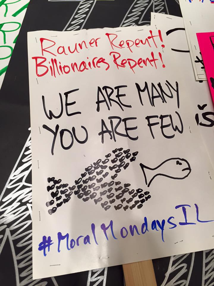 Moral Mondays Illinois – The Lazaruses of Our Society July 2015