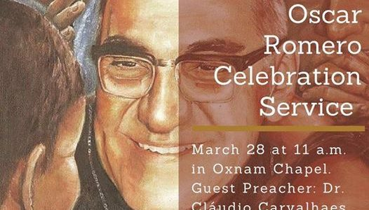 Sermon – On Oscar Romero: Between Life and Death – What to do?
